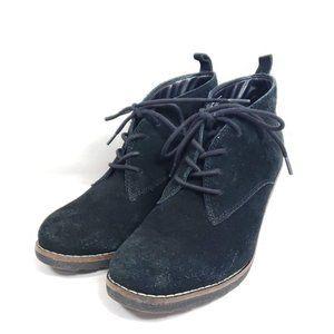 White Mountain Ankle Booties Women's Size 10 Black